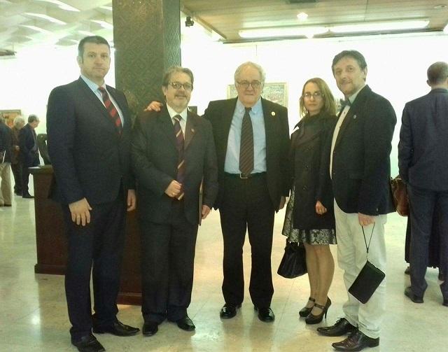 Со претседателот на САНУ Академик Костиќ