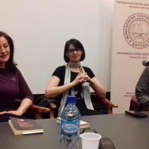 """МНД-Битола одржа јавна трибина """"Мајчинство, љубов, живот"""" со поетесата Ана Бунтеска"""
