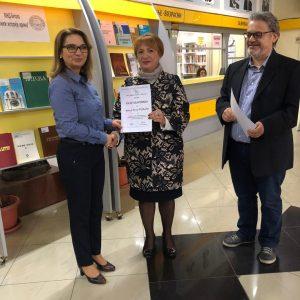 """Ученици и наставници од ОУ """"Даме Груев""""-Битола во посета на МНД-Битола"""
